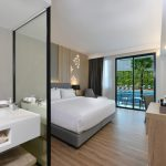 Hotel Amber Pattaya : Deluxe Pool View Room